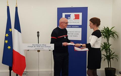 Remise rapport généralisation Gestes Qui Sauvent Faure Pelloux Méadel