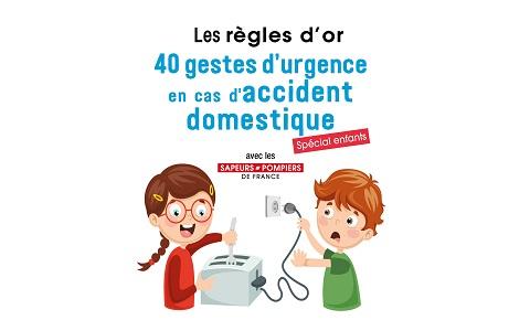 40 gestes d'urgence en cas d'incendie domestique