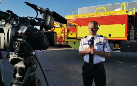 Grégory Allione : « S'exposer c'est se faire entendre ». Congrès national des sapeurs-pompiers de France 2019