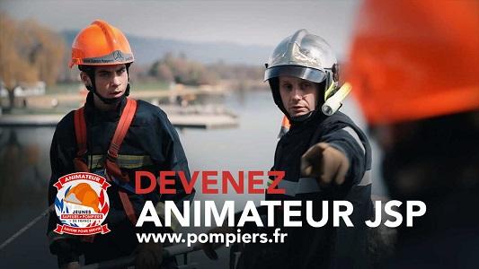 Animateur de jeunes sapeurs-pompiers