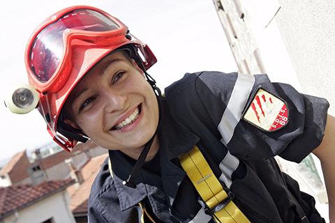 Femmes sapeurs-pompiers