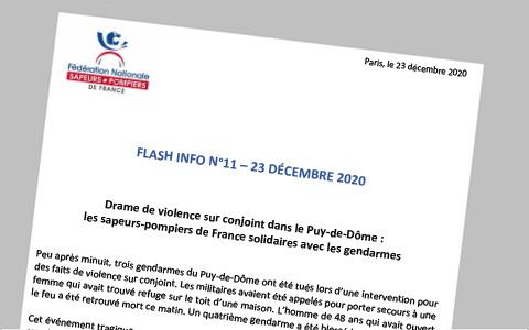 Flash info n11 - 23-12-2020