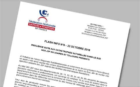 Flash info n°6