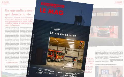 magazine des sapeurs-pompiers