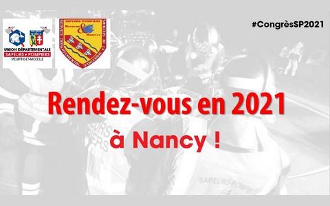 Congrès national des sapeurs-pompiers 2021 - Nancy