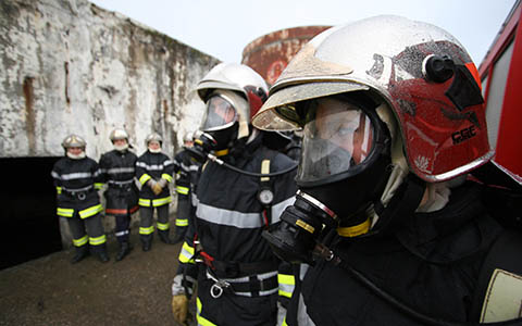 Pompiers médailles sécurité intérieure 2016