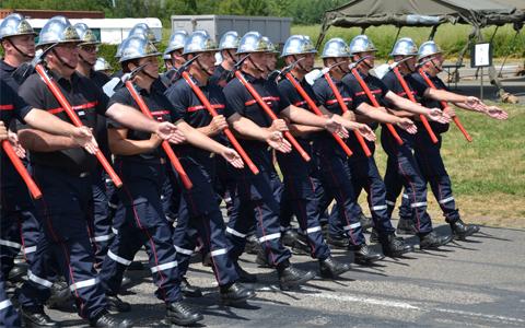 Pompiers défilé 14 juillet 2018
