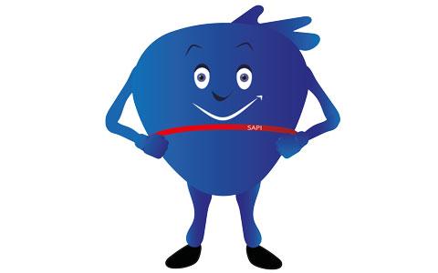 SAPI, mascotte de la MNSPF