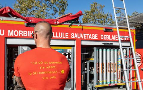 Sauvetage-déblaiement,  «là où  les pompiers s'arrêtent, le SD commence»