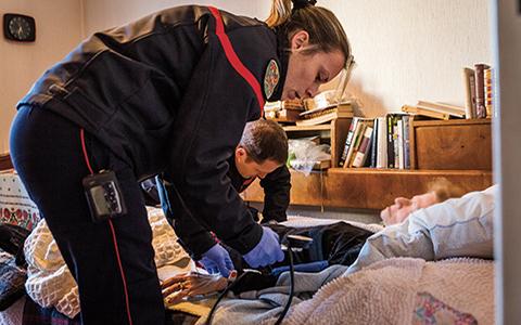 Les secours d'urgence aux personnes en voie de mutation