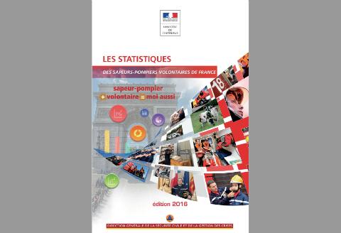 Page de couverture de la synthèse 2016 des statistiques des SDIS.