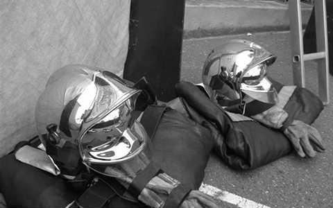 sapeur-pompiers - deuil