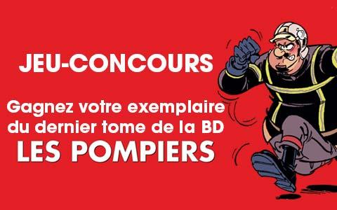VIGNETTE - BD Les Pompiers - Jeu concours Bamboo