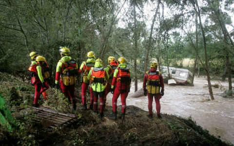 VIGNETTE - Pompiers sauveteurs aquatiques - Renfort intempéries Gard