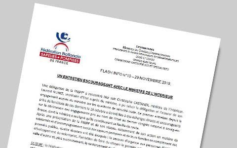 VIGNETTE - Flash info 2018-11-29 - Entretien FNSPF au ministère de l'Intérieur