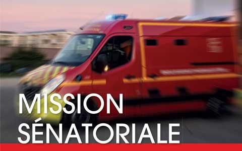 VIGNETTE - Contribution de la FNSPF à la Mission sénatoriale d'information sur la sécurité des sapeurs-pompiers en intervention