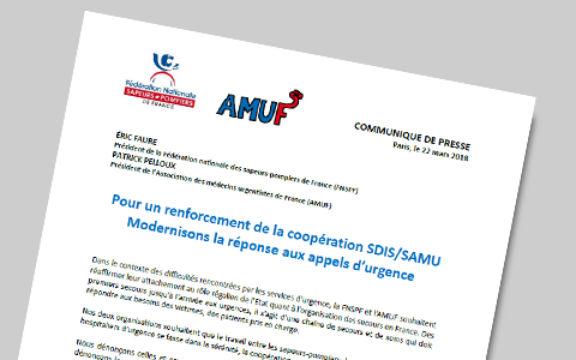 Communiqué FNSPF+AMUF