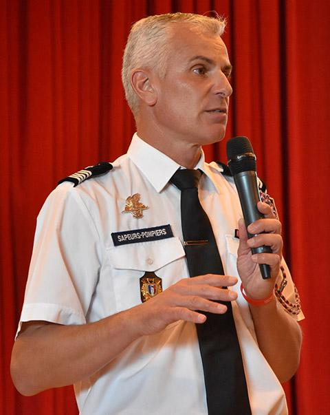 Grégory Allione, président de la FNSPF et de l'ODP
