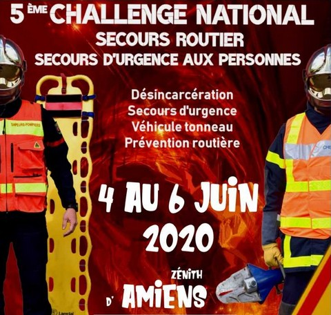 Challenge national sapeurs-pompiers 2020