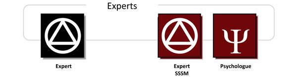 Grades des experts