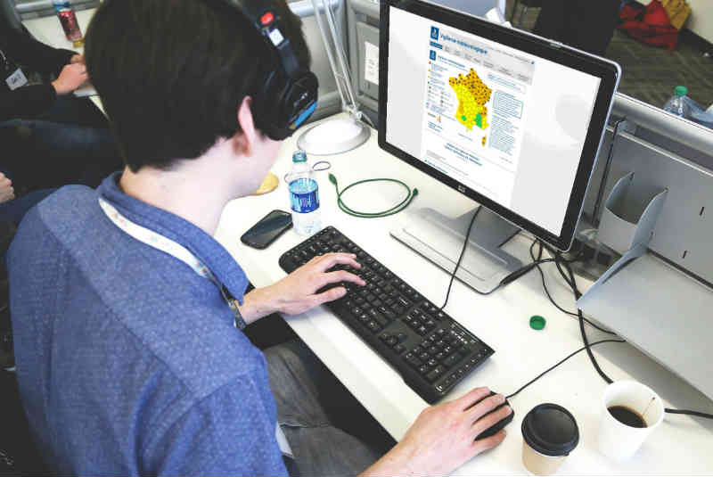 Illustration site vigilance météo france