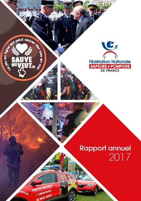 Rapport annuel FNSPF 2017 - le mot du président Eric FAURE