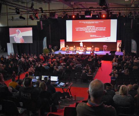 Temps forts - congrès national des sapeurs-pompiers de France 2019 - Vannes
