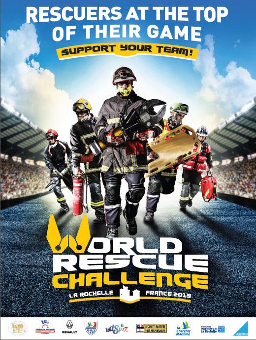 World Rescue Challenge 2019 : rendez-vous à la Rochelle !