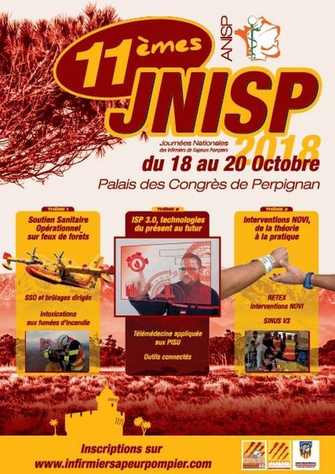 11e journées nationales des infirmiers sapeurs-pompiers