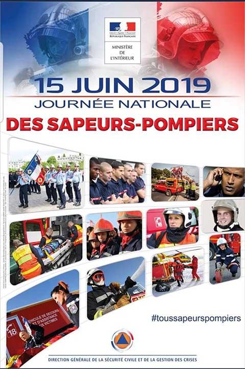Journée nationale des sapeurs-pompiers 2019