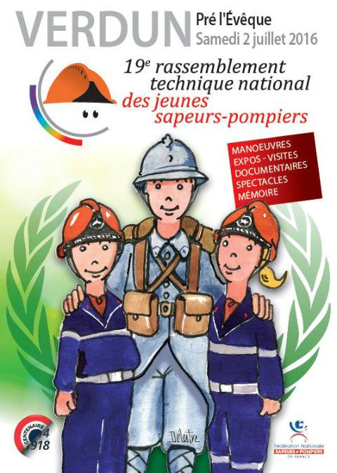Rassemblement technique jeunes sapeurs-pompiers 2016