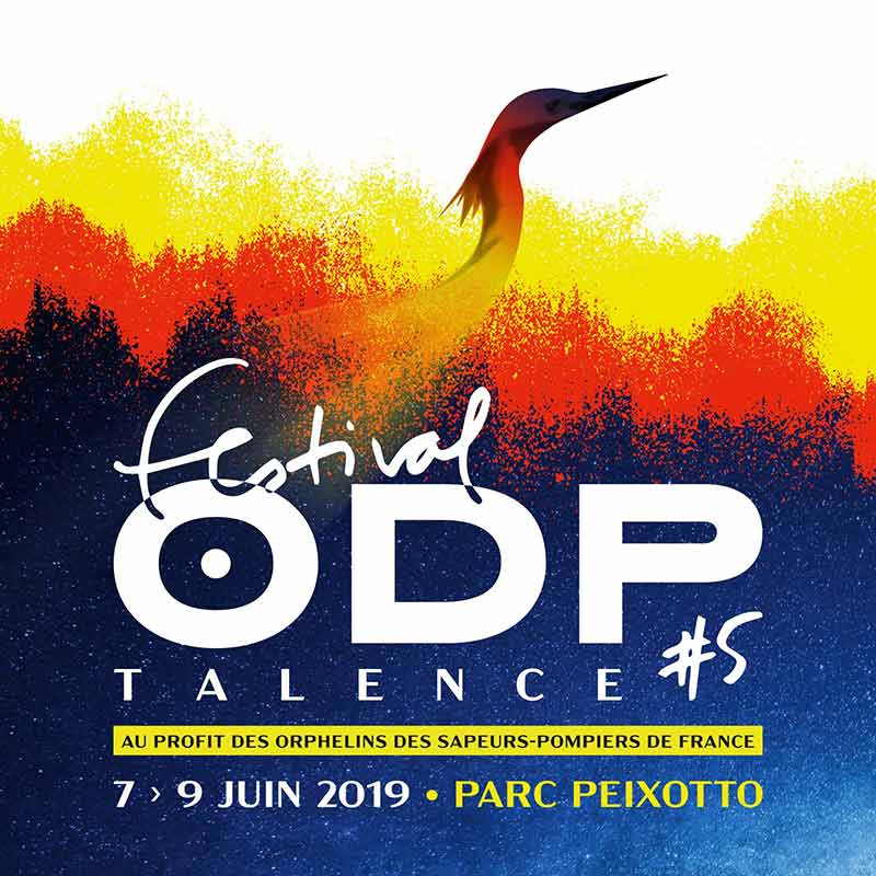 Visuel Affiche Festival ODP #5 - Talence - Juin 2019