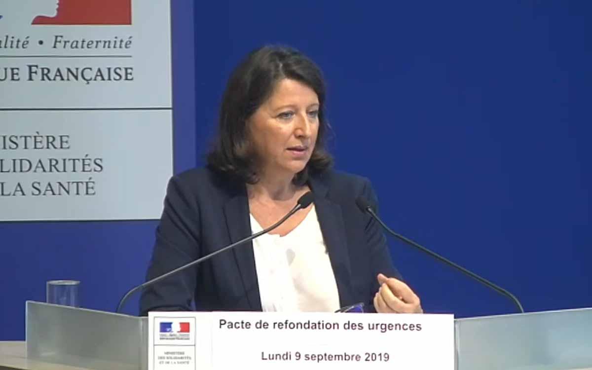 Illustration Conférence de presse de Anges Buzyn, ministre de la Santé