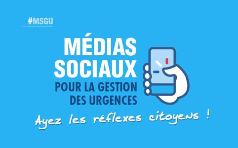 Médias sociaux pour la gestion des urgences