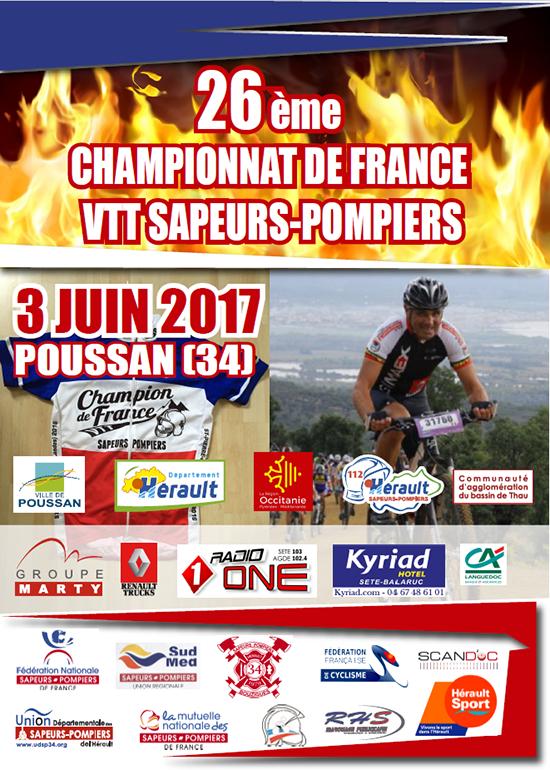 VTT sapeurs-pompiers 2017