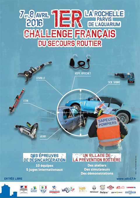 challenge secours routier 2016