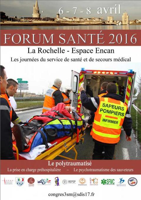 Affiche Forum Santé 2016