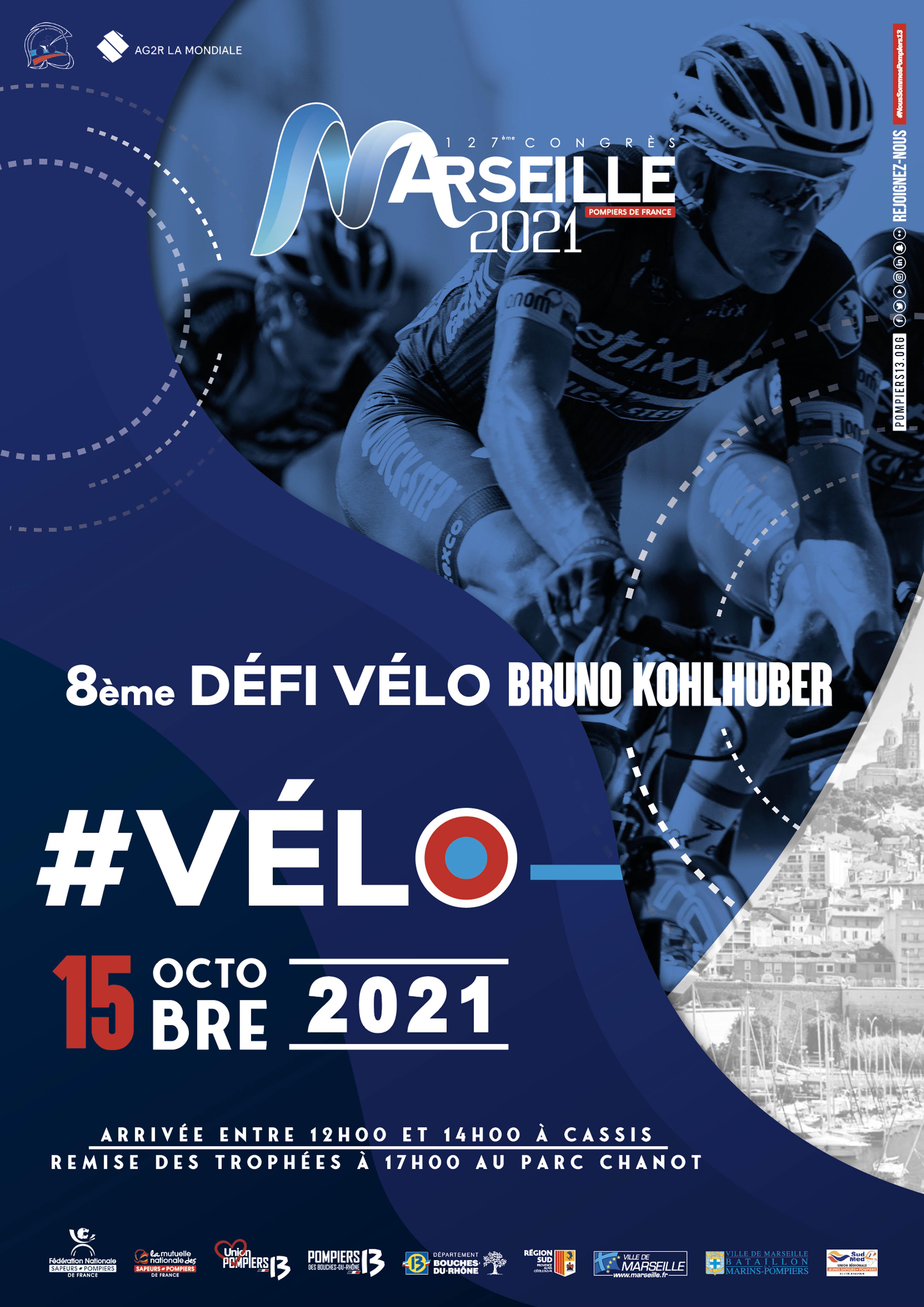 Affiche défi vélo