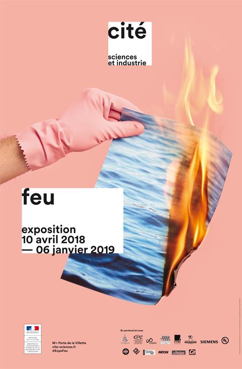 Affiche exposition FEU