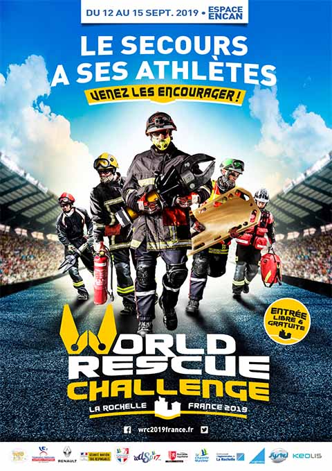 Affiche WRC 2019 France