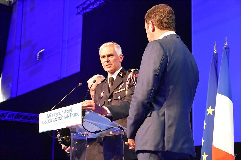 Grégory Allione et Christophe Castaner