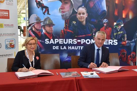 Convention de partenariat FNSPF et France Victimes