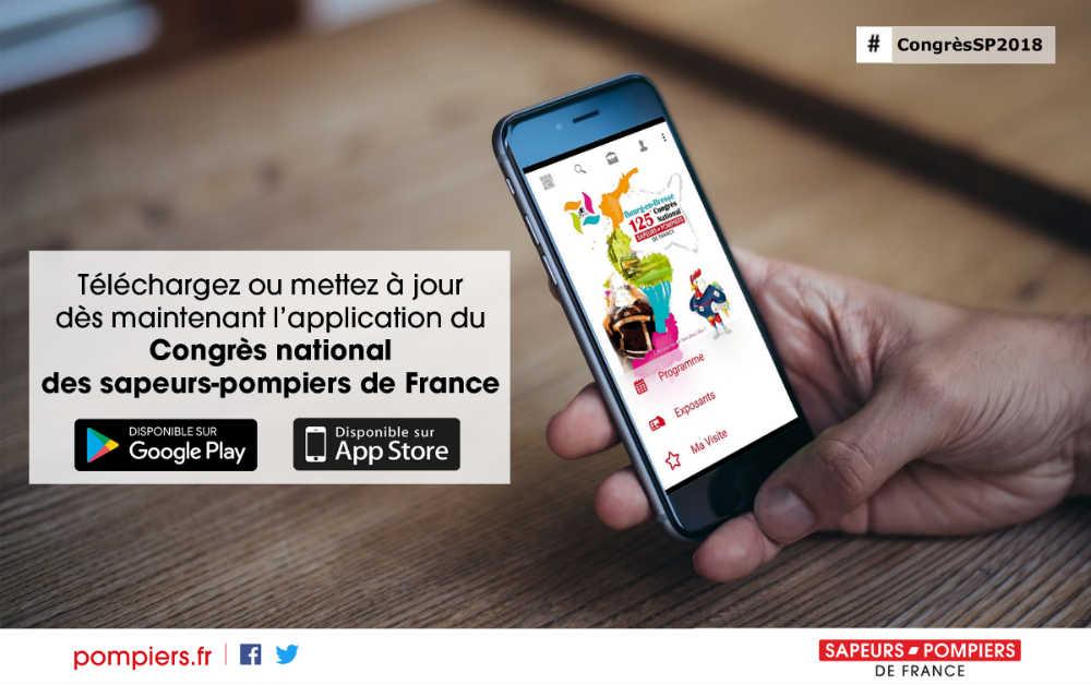 Téléchargez ou mettez à jour l'application du Congrès national des sapeurs-pompiers de France 2018