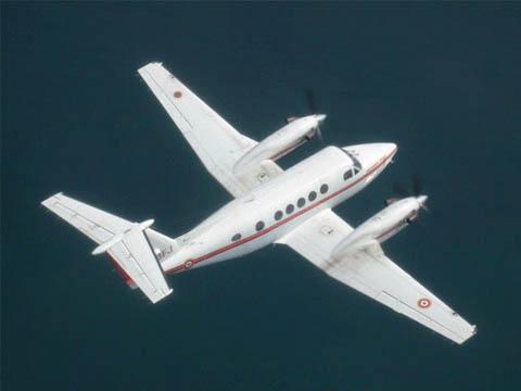 """Avion """"Beechcraft"""" de la Sécurité civile – © Sécurité civile"""