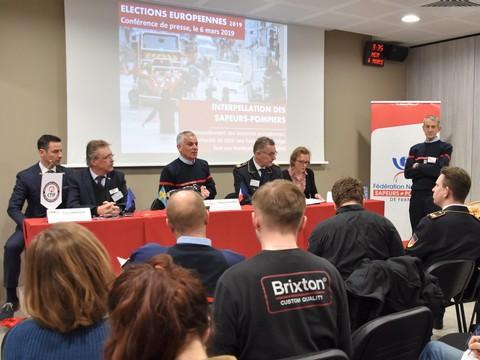Élections européennes 2019 : les sapeurs-pompiers interpellent les candidats pour préserver l'engagement volontaire et renforcer