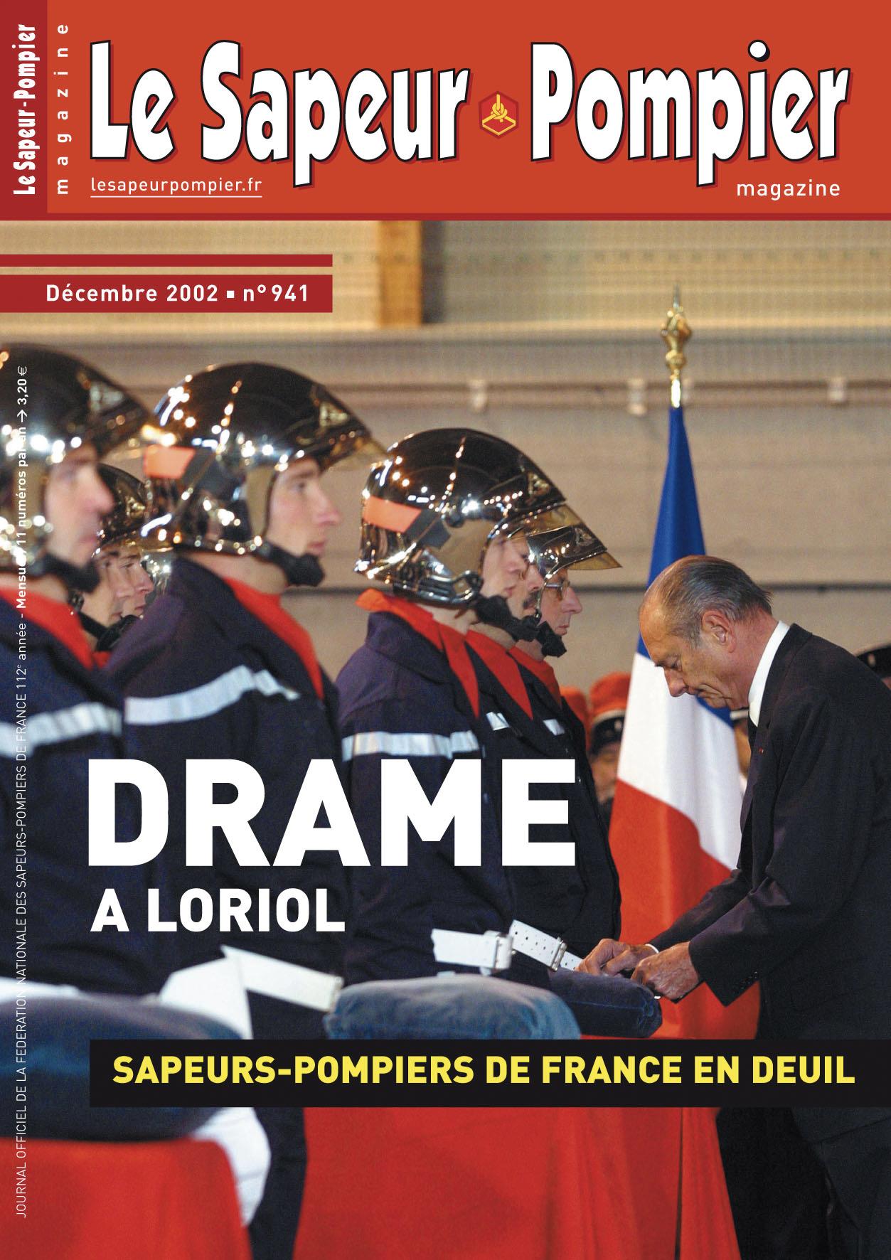 Drame à Loriol : les sapeurs-pompiers de France en deuil