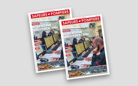 Le magazine Sapeurs-pompiers - Dossier sur les femmes sapeurs-pompiers