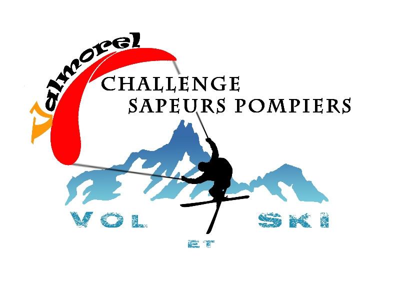 Logo du challenge parapente des sapeurs-pompiers