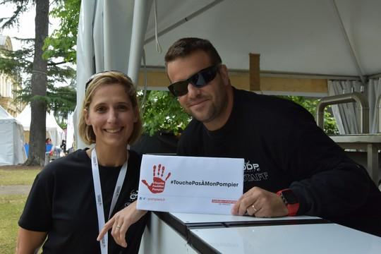 Cyril et Stéphanie, bénévoles Festival ODP 2019