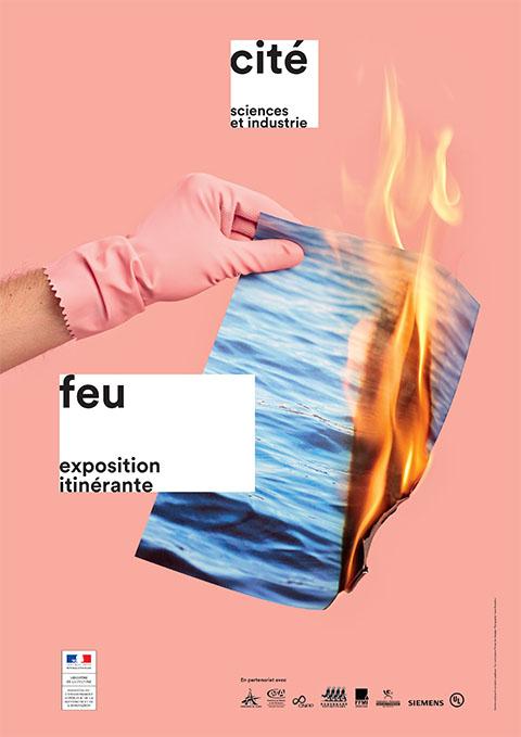 Exposition Feu - affiche